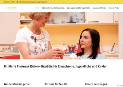 Homepage Kieferorthopädie Dr. Pieringer in Wolfsberg
